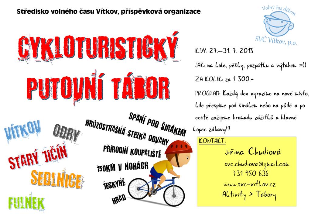 cykloturistický tábor