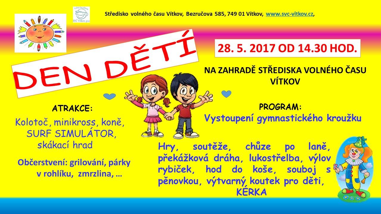 Den dětí 2017